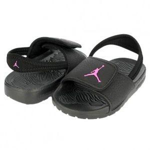 5ce6155bf8b Jordan NIKE Toddler Girl Hydro 6 GT Slides Sandal